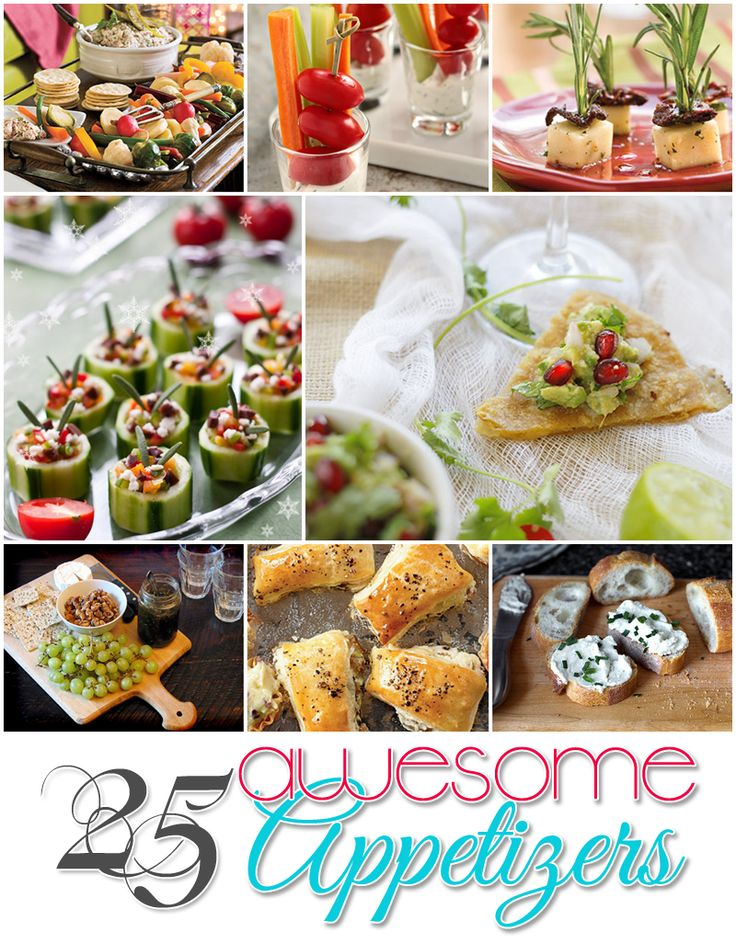 25 Awesome Appetizers
