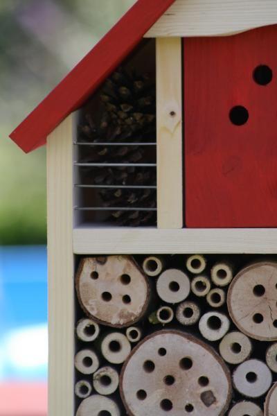 Insektenhotel für viele Insektenarten , Bienenhotel , Insektenhaus