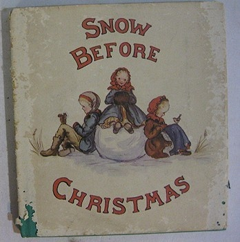 RARE Vintage Snow Before Christmas 1941 First Ed. dj Tasha Tudor 199.00
