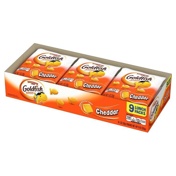 Pepperidge Farm Goldfish Cheddar Baked Snack Crackers - 9ct
