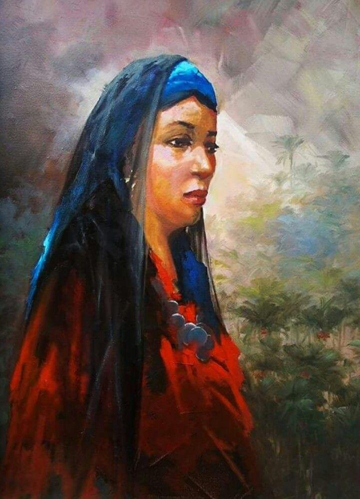 الفنان التشكيلي المصري محمد الازهري Arabian Art Painting Art