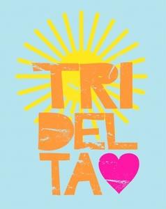 delta!: Colleges Tshirt Design, Shirts Ideas, Tridelta Wazzu, Tried Delta Shirts, Delta Delta, Sun Design, Beaches Towels, Delta Tried, Shirts Design
