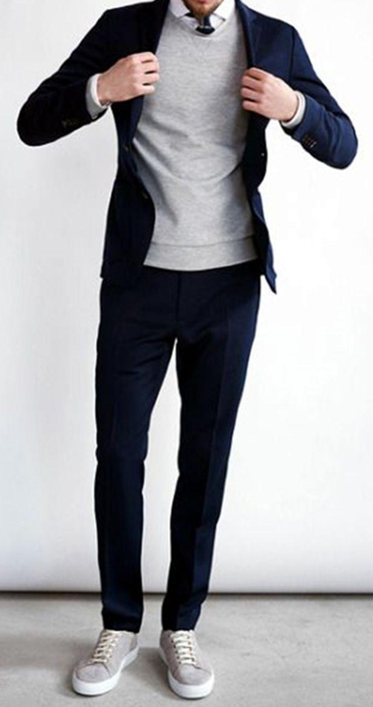Une tenue masculine parfaite pour votre journée de travail ! Fini les tenues formelles, désormais on vient travailler à la cool... A vite découvrir !