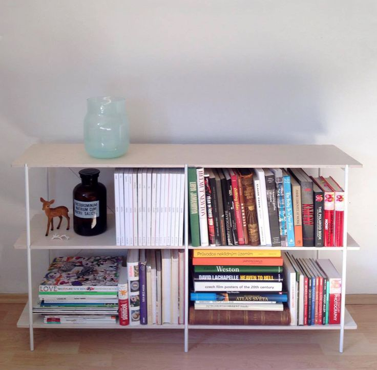 Nicely ordered, just the way a good book shelf should be!