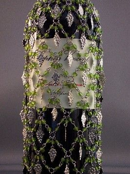 What better dangle to have on a wine bottle cover than a for Buy grape vines for crafts