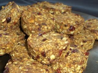 Domácí Dobroty: Celozrnné musli sušenky