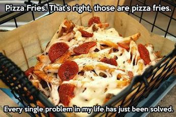 Hilarious Pictures of the day -80 pics- Pizza Fries
