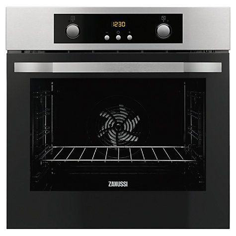 Buy Zanussi ZOP37902BE Built-In Single Electric Oven, Stainless Steel Online at johnlewis.com