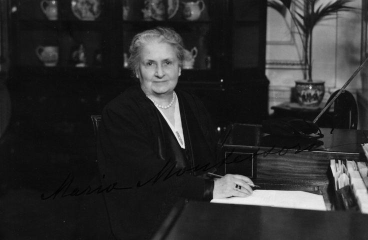 Maria Montessori 1939