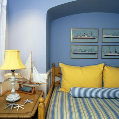 Larcher House Yellow Bedroom