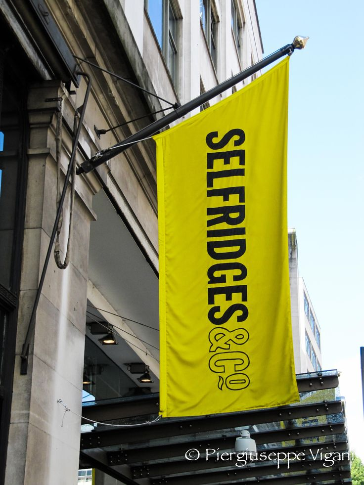 Selfridges (Oxford St) is so large...you can spend all day in there (like I've done on several occasions). (LW32-1)