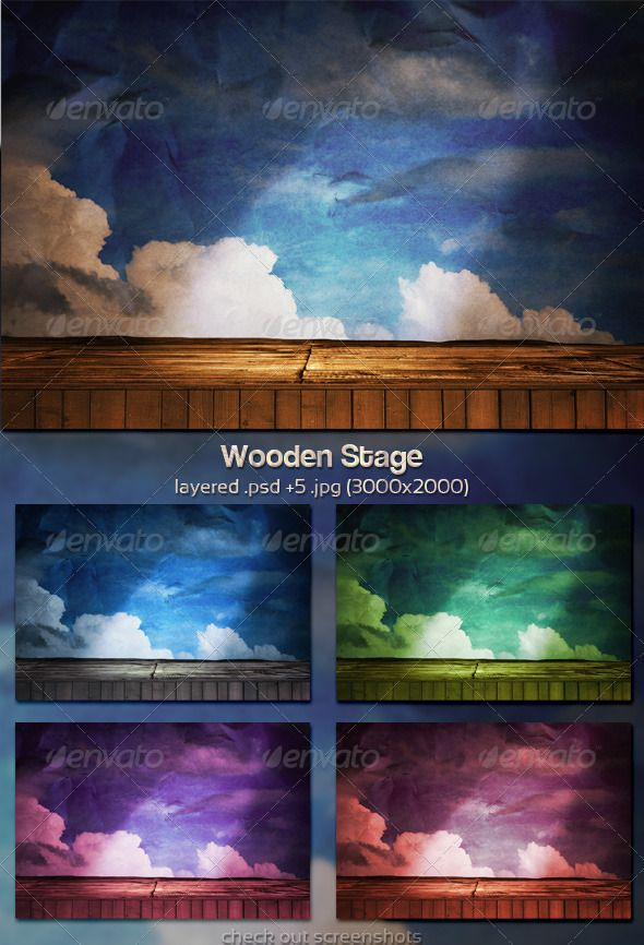 Wooden Stage  #GraphicRiver         PSD Stage Background:   Layered .psd (easy to edit)  5 .jpg 3000×2000  5 .jpg 1920×1280  Tips in a PDF file  Check:  Stay Updated:         Created: 21January12 GraphicsFilesIncluded: PhotoshopPSD #JPGImage Layered: Yes MinimumAdobeCSVersion: CS5 PixelDimensions: 3000x2000 PrintDimensions: 10x6.6 Tags: 3d #backdrop #background #cinema #color #curtain #decor #elegant #fabric #film #floor #illustration #interior #light #music #orchestra #performance #play…