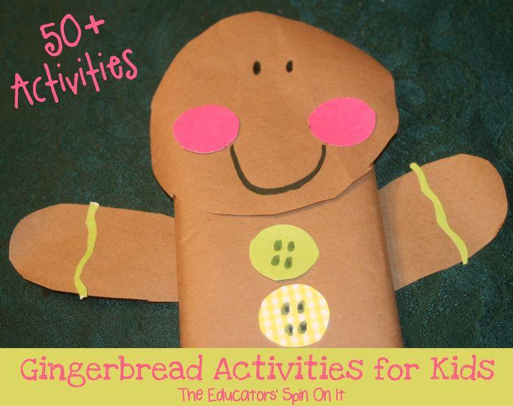 65 best preschool themes gingerbread images on pinterest for Gingerbread crafts for kindergarten