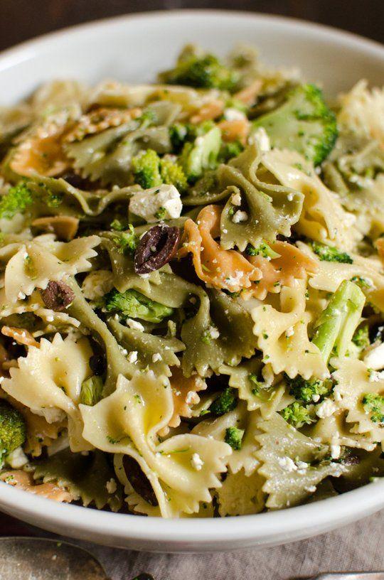 Recipe: Broccoli and Feta Pasta Salad