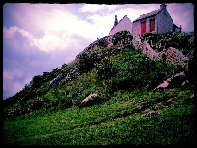 Île de Bréhat, just off coast of l'Arcouest, Bretagne, in the Channel