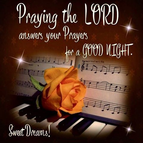 Good Night Everyone, God Bless You!!                                                                                                                                                                                 More