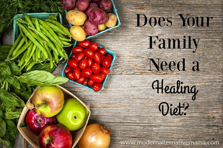 Healing diets are excellent for addressing health issues.  How to know if your family needs one and what to look for in a good diet.