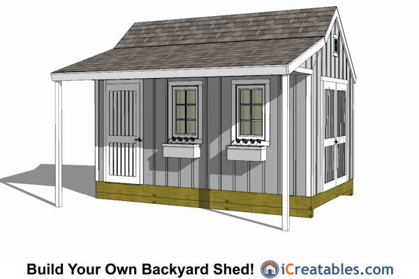 17 best images about 10x16 shed plans on pinterest pool Cape cod shed plans