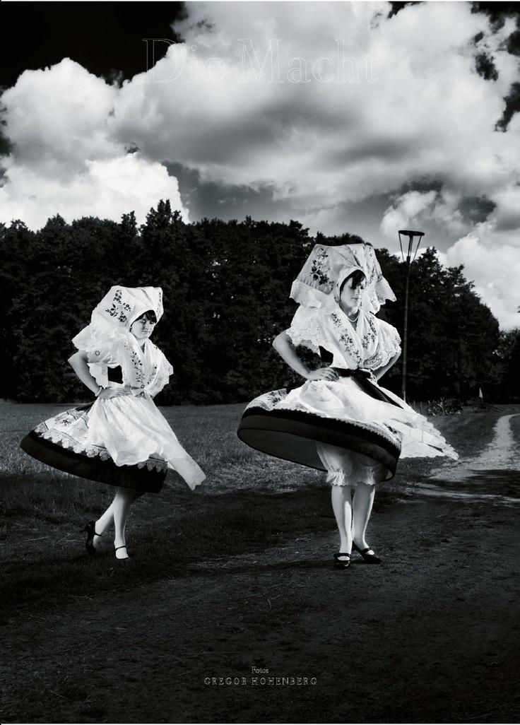 Germany: costumes from Spreewald #Spreewald