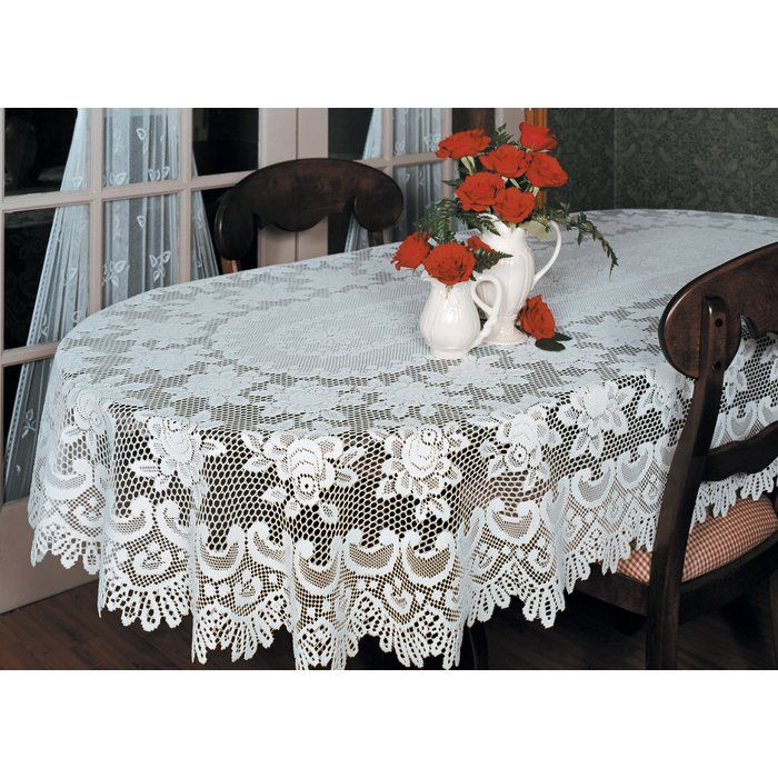 Fausto Rose Tablecloth Oval Tablecloth Table Linens Table Cloth