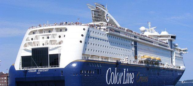 Stammgast am Norwegenkai ist auch die ColorFantasy. Wer eine Kreuzfahrt mit der ColorLine gebucht hat, reserviert bei Port Parking einen Parkplatz schnell und günstig.