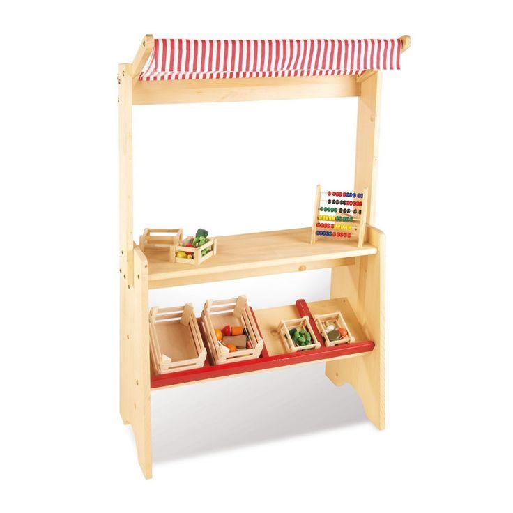 Petite marchande en bois Pinolino - Jeux et Jouets Enfant - Smallable