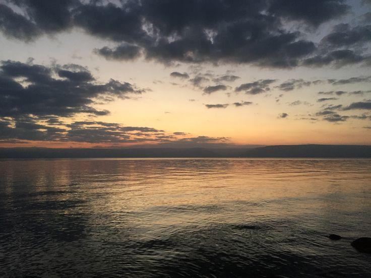 Kineret sunrise