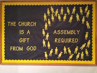 Columbiana Church of Christ: Bulletin Boards Idea for a bulletin board!
