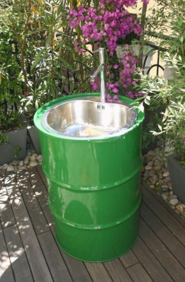 10 Diy Outdoor Sink Drain Outdoor Kitchen Sink Garden Sink Outdoor Sinks