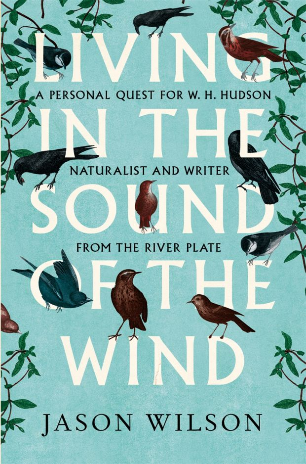 Living in the Sound of the Wind by Jason Wilson; design by Leo Nickolls (Constable / June 2015)