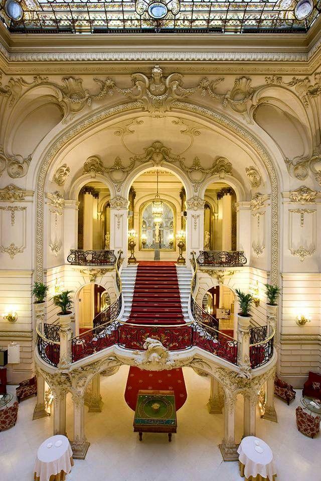 Casino de Madrid. Escalera principal