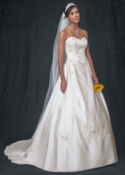 David's Bridal 10012316 Wedding Dress. David's Bridal 10012316 Wedding Dress on Tradesy Weddings (formerly Recycled Bride), the world's largest wedding marketplace. Price $152.15...Could You Get it For Less? Click Now to Find Out!  #weddingdress #davidsbridal  #tradesy #buyme #wedding #ivory #bridal #weddingseason #onsale #bridalgown #bride #sweetheart