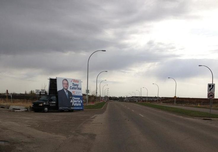 Tony Caterina's election AdVan hit the streets this week to get in some impressions before election day #mobilebillboards #outdooradvertising #outofhomemarketing #alternativeadvertising