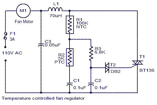 FanRegulator‬ circuit is an electronic device consisting