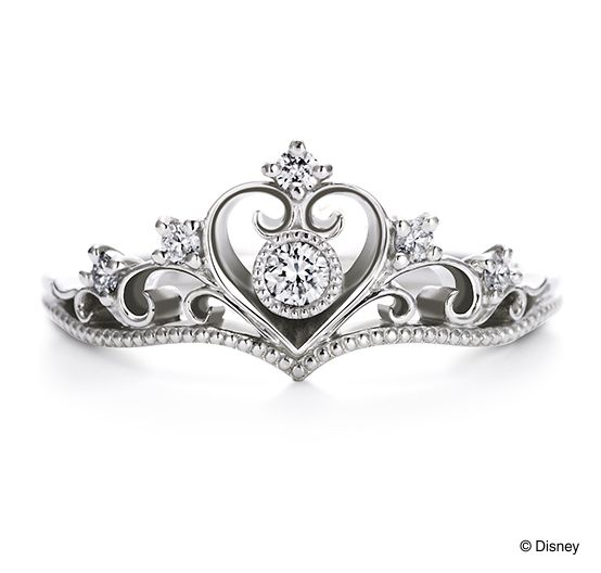 """【Princess Tiara】 Engagement ring with the motif of """"Princess"""" series. Dreamland Princess wearing """"tiara"""" is a symbol of happiness. ... As forever shining princess./ 【プリンセスティアラ】 『プリンセスシリーズ』をモチーフにしたエンゲージリング。夢の国のプリンセスが身につけた""""ティアラ""""は幸せの象徴。いつまでも輝くお姫様のように・・・。/ K.uno is a jewelry brand in Japan. We create bridal, fashion as well as custom made jewelry. ◆HP→http://www.k-uno.co.jp/ ◆MAIL→k-uno@k-uno.co.jp"""