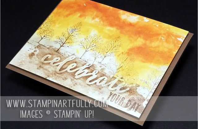 Kim Jolley's Stampin Artfully Blog: Fall Birthday Card