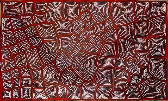 Painting  Ideals...paintings artwork: contemporary australian aboriginal art                                                                                                                                                      More