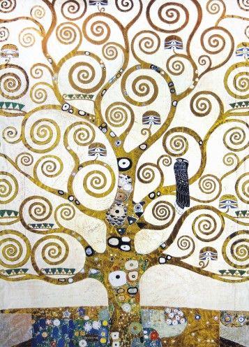 Gustav Klimt - L`Arbre De Vie (Détail), 2 Parties