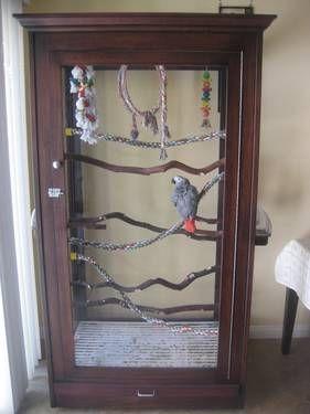 Large Custom Acrylic Bird Cage, Make an offer!