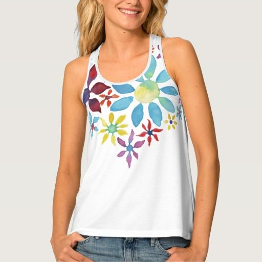Heart of Flowers Tank Top  (I think this is my favor of the new all over printed tanks and tees)