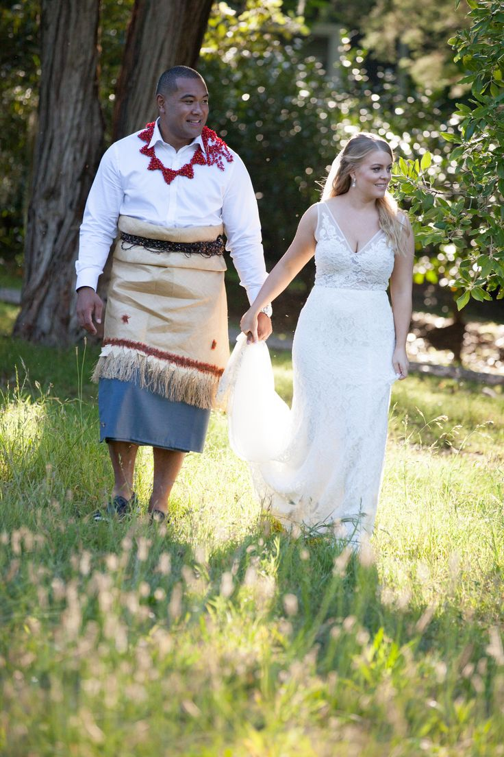 Sara & Leo // cultural dress - Leo wears a tupenu and ta'ovala, a traditional Tongan outfit. The ta'ovala is a family heirloom which is over 100 years old and is passed down in the family to wear on special occasions #familytraditions #weddingtraditions #specialoccasions #familyheirloom #culturaltraditions PC: Liv Style photography