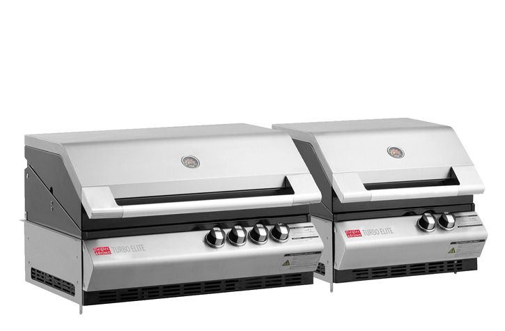 Grand Turbo Elite 6 Burner Build-In Barbecue $3299 - Barbecues Galore - 1400mm long