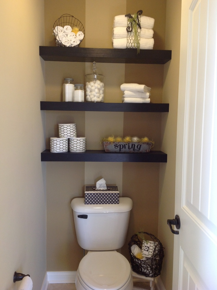 Floating Shelving In Mb Toilet Area Bathroom Shelf Decor Shelves Above Toilet Shelves Over