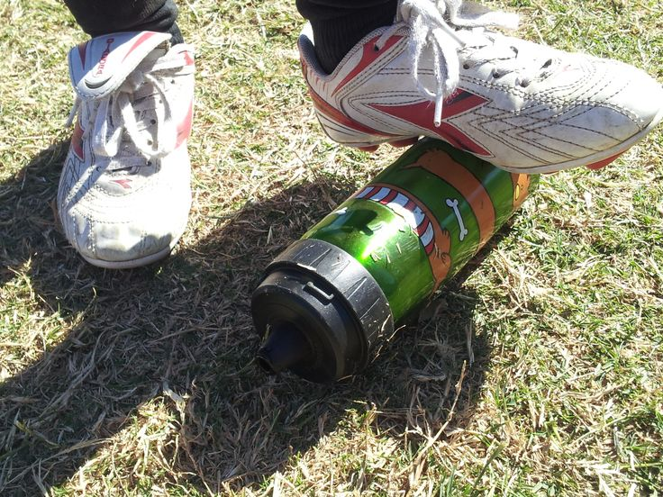 Great for the weekend sport - from soccer to ruby and AFL to tennis (although we do not advocate the kids standing on the bottle!)