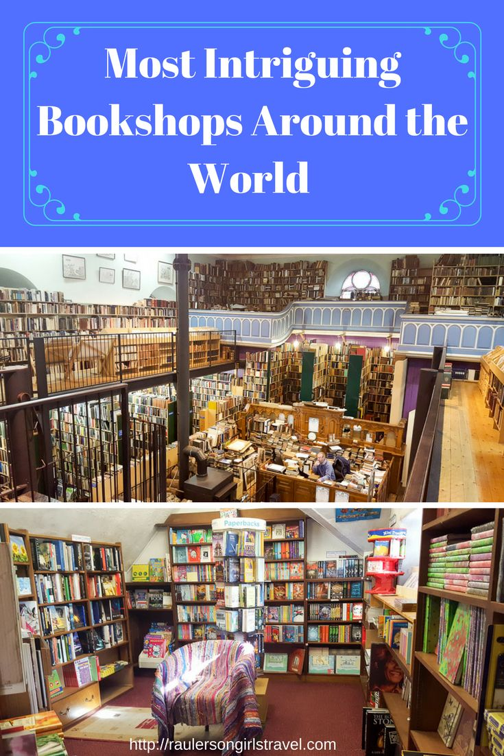 Wherever I travel I scope out the best bookshops in that town. Here are some of my favorite bookshops around the world that I've found.