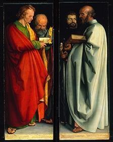 Albrecht Dürer - Les quatre apôtres (Jean l'évangéliste, Pierre, Marc, Paul)
