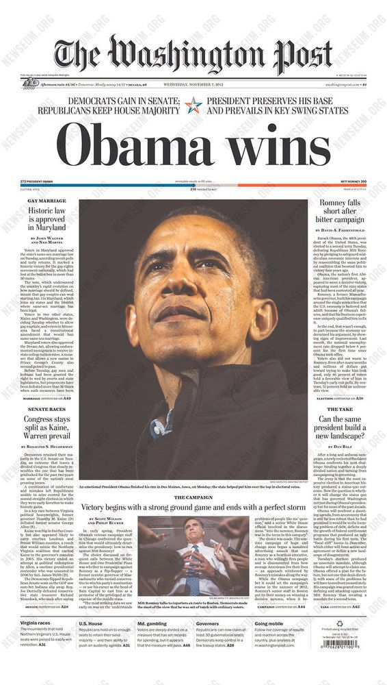 articles on obama