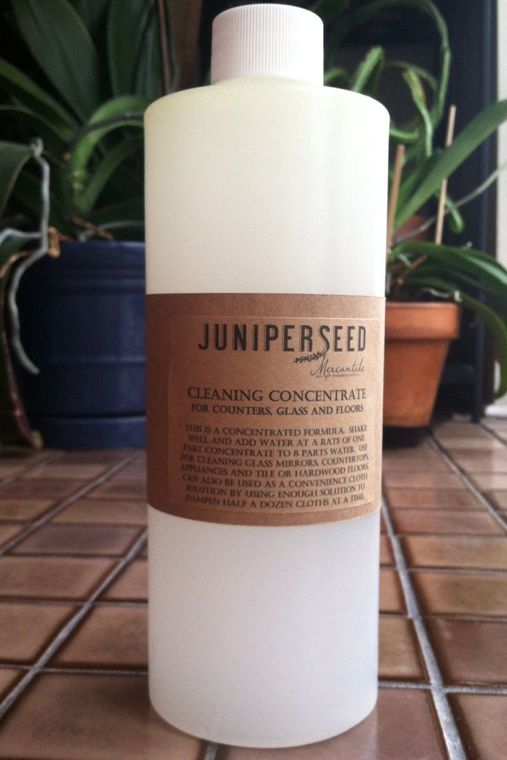 Lemon Glass and Floor Cleaner Concentrate - Naturally Gentle - Vegan - Makes Over a Gallon of Cleaning Product
