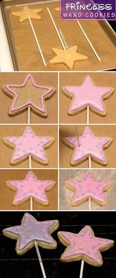 How To Make Princess Wand Cookies