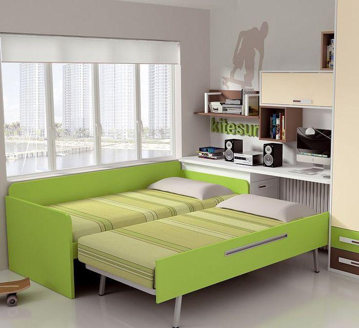 1000 images about habitaciones room on pinterest - Cama nido lacada ...